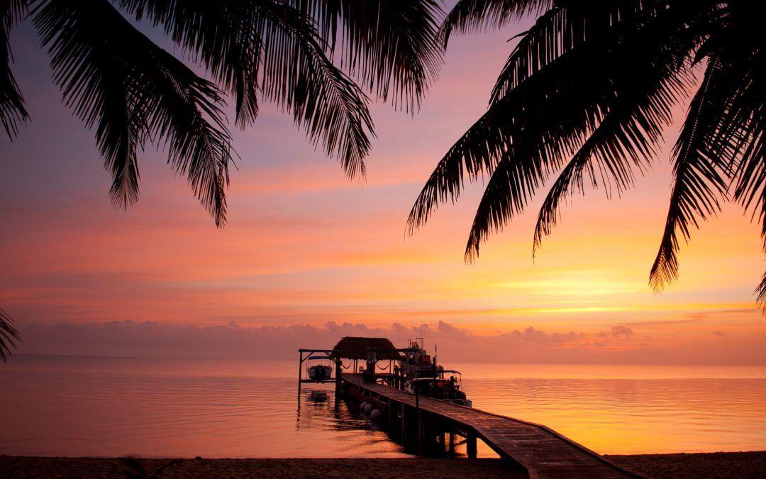 No shirt, no shoes, no problemYou better Belize it!